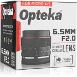 Opteka 6.5mm f/2 Circular Fisheye Lens for M4/3 mount