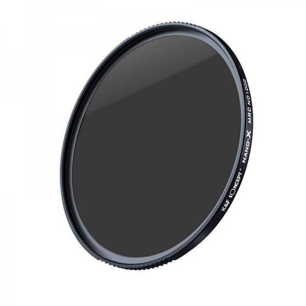 K&F Concept professional Nano-X 10-Stop ND 1000 Filter 82mm - German Optics