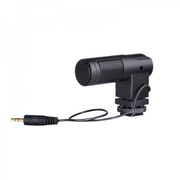 BOYA BY-V01 Mini Stereo X/Y Condenser Microphone Mic for Canon Nikon Sony etc