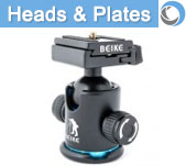 Tripod Heads and Accessories