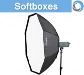 Softboxes and Striplights