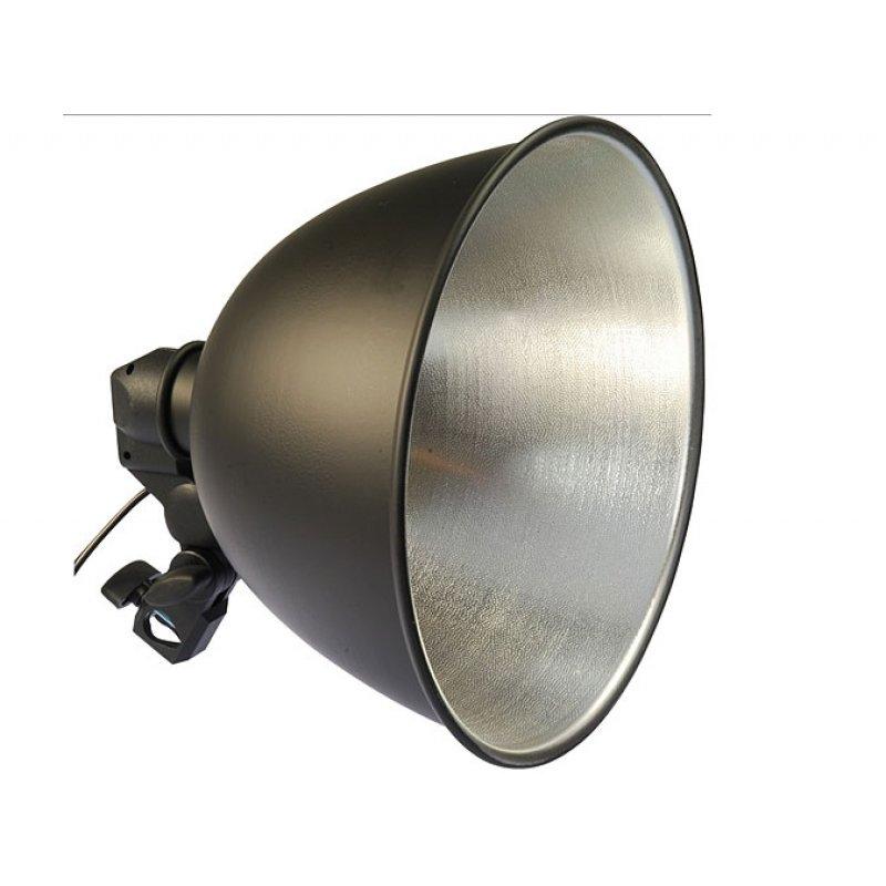 Studio Lighting Nz: E27 Studio Light + Reflector And Umbrella Holder