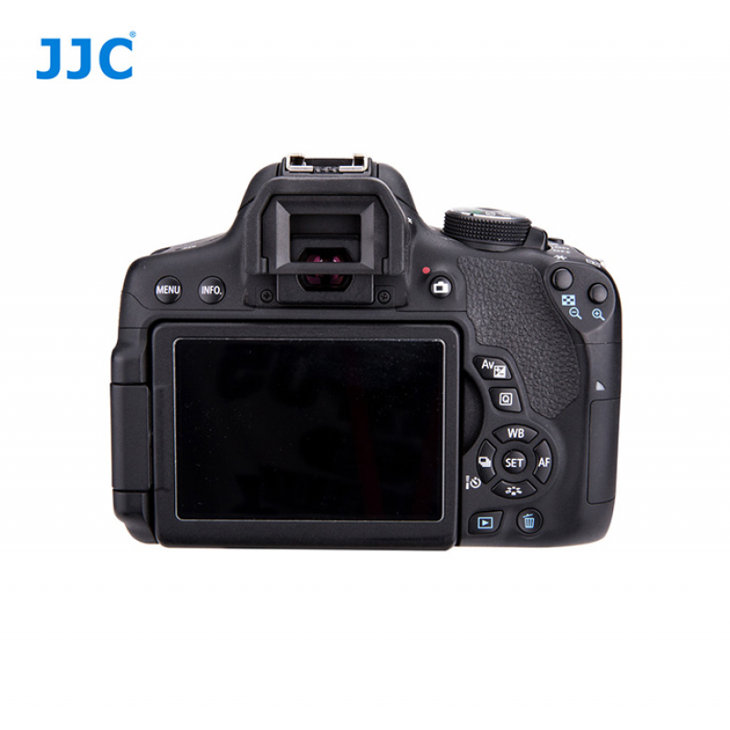 White JJC EC-1 White Replaces Canon Ef Eyecup and EOS SLR 200D White for Canon DSLR 100D