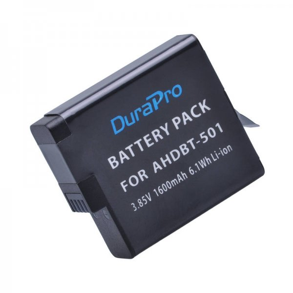 Durapro professional high quality cell GOPRO HERO 5 Battery