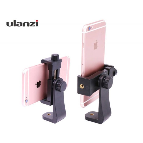 Tripod Mount Cell Phone holder Vertical Bracket Adapter for Smartphone iPhone