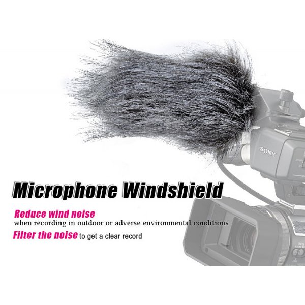 Windsock for external microphone - Large