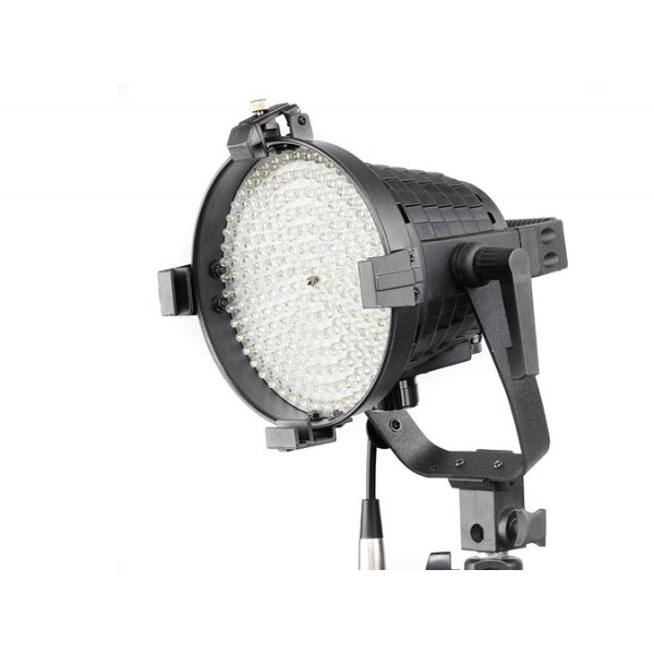LED Studio Video Light with Dimmer and Barndoor