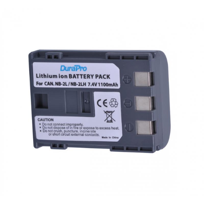 DuraPro NB-2LH Battery For Canon 350D 400D G7 G9 S30 S40 Z1