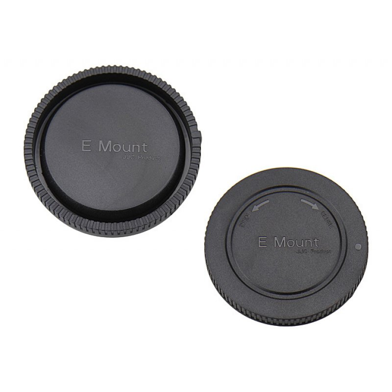 Front And Rear Lens Body Cap For Sony Nex E Mount