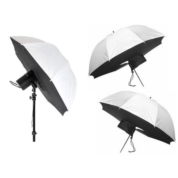 Umbrella Into Softbox: Shoot Through Umbrella Softbox