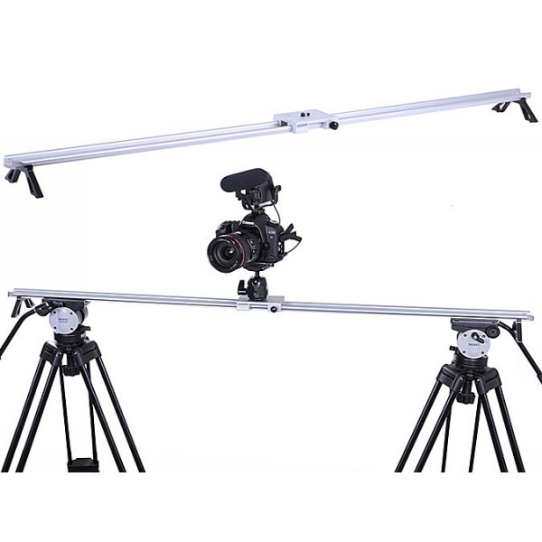 Professional camera video slider - 120cm