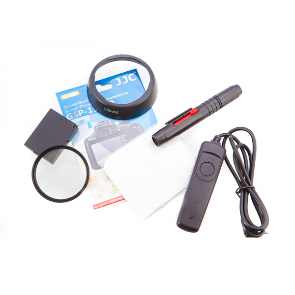 Canon 1500D Deluxe Accessories starter kit for 18-55mm Kit
